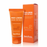 ReinPlatz Red Loess Mask on Face